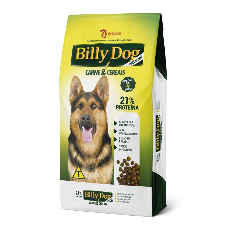 Billy Dog Carne e Cereais