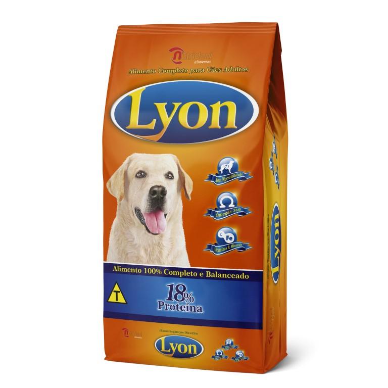 Lyon Alimento 100% Completo e Balanceado